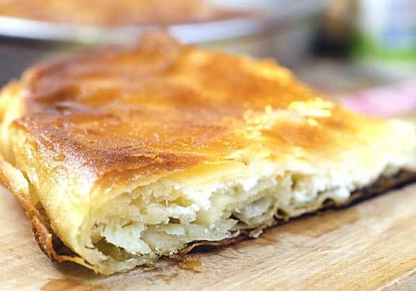 Сербский пирог с сыром рецепт